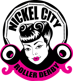 Nickel City Roller Derby (NCRD) Logo